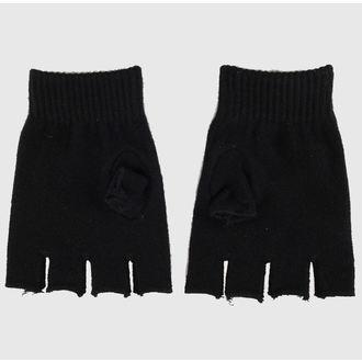 gants mitaines Magic - Noir / Rose