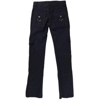 pantalon pour femmes TROUPEAU CUIR STUFF - Noire, NNM