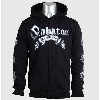 sweat-shirt avec capuche pour hommes Sabaton - Czech Republic - CARTON, CARTON, Sabaton