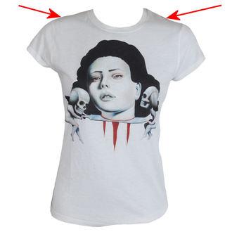tee-shirt pour femmes BLACK MARKET - Lowbrow - Blanc - LB0100, BLACK MARKET
