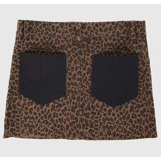jupes pour femmes COL LECTIF - Brown