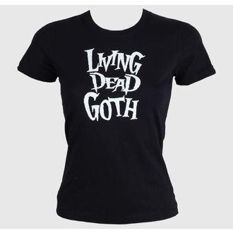 t-shirt pour femmes - Living Death Goth - BAT ATTACK, BAT ATTACK