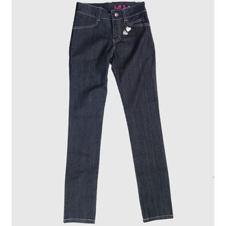 pantalon pour femmes HELL BUNNY - Blue, HELL BUNNY
