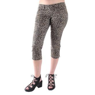pantalon 3/4 pour femmes 3RDAND56th - Leopard, 3RDAND56th
