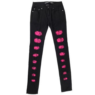 pantalon pour femmes CRIMINEL DOMMAGES - Noire