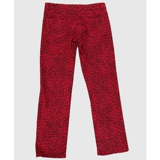 pantalon pour femmes COL LECTIF - Rouge, NNM