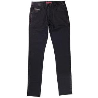 pantalon QUEEN OF DARKNESS - Noire, QUEEN OF DARKNESS