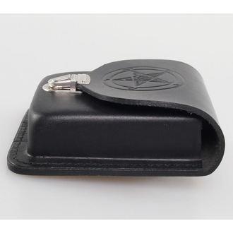 poche pour ceinture Baphomet - Noire, JM LEATHER