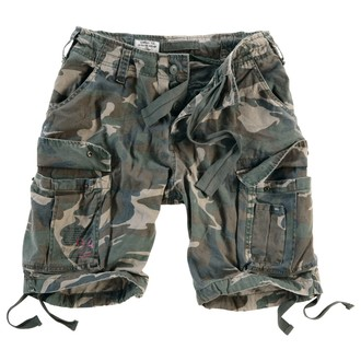short pour hommes SURPLUS - Airborne Vintage - Woodland Gewas, SURPLUS