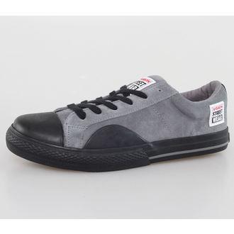 chaussures pour hommes VISION - Suede LO - Charbon / Noir, VISION