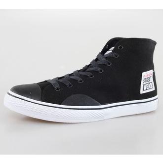 chaussures pour hommes VISION - Toiles HI - Noir / Blanc, VISION