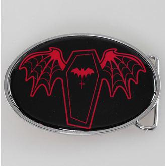 boucle SOURPUSS - Coffin - Noir / Rouge, SOURPUSS