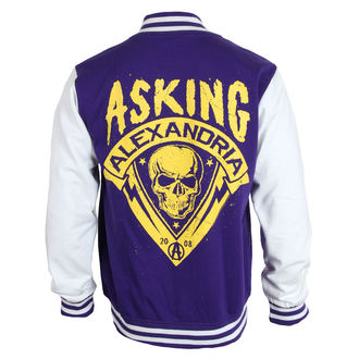 sweat-shirt sans capuche pour hommes Asking Alexandria - Skull Shield - PLASTIC HEAD, PLASTIC HEAD, Asking Alexandria