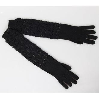 gants QUEEN OF DARKNESS - Noire, QUEEN OF DARKNESS
