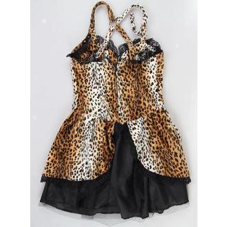 robe pour femmes NOIRE PISTOLET - Punk - Leopard, BLACK PISTOL
