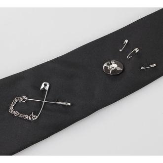 cravate QUEEN OF DARKNESS - Noire, QUEEN OF DARKNESS
