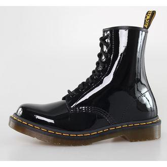chaussures DR. MARTENS - 8 trous - 1460 - W NOIRE MOTIF Lamper
