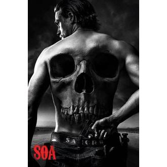 affiche Sons Of Anarchy - Skull - PYRAMID POSTERS, PYRAMID POSTERS