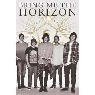 affiche Bring Me The Horizon - Étoile - PYRAMID POSTERS, PYRAMID POSTERS, Bring Me The Horizon