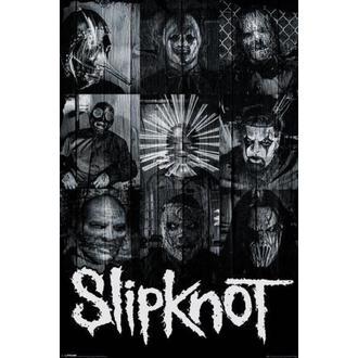 affiche Slipknot - Masks - PYRAMID POSTERS, PYRAMID POSTERS, Slipknot