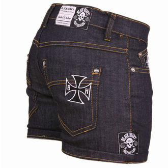 short pour femmes BLACK HEART - Blue Denim, BLACK HEART