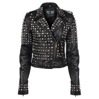 veste en cuir pour femmes - Studded - KILLSTAR, KILLSTAR