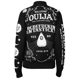 veste printemps / automne pour hommes - Ouija Wool - KILLSTAR - Black