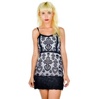 robe pour femmes TOO FAST - Curse - Skull Lace, TOO FAST