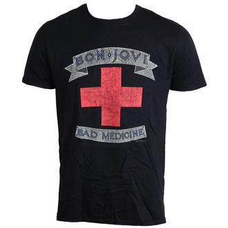 tee-shirt métal pour hommes Bon Jovi - Bad Medicine - LIVE NATION, LIVE NATION, Bon Jovi