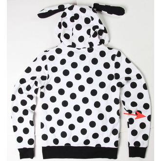 sweat-shirt pour femmes Rabbit - Blanche / Noire - ENDOMMAGÉE, NNM