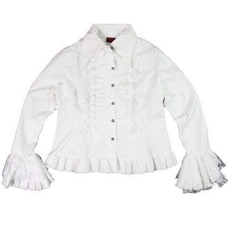chemise pour femmes ADERLASS - Blanc - ENDOMMAGÉE, ADERLASS