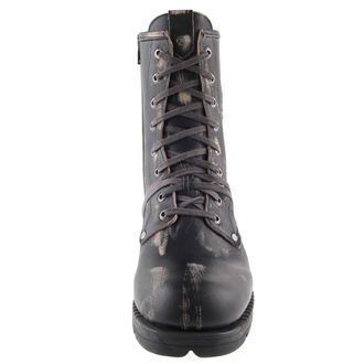 bottes en cuir pour hommes - Motorosk Negro - NEW ROCK, NEW ROCK