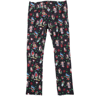 pantalon pour femmes HELL BUNNY - Noire, HELL BUNNY