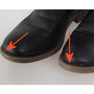 chaussures pour femmes BRANDIT - Bikerboot - Noire - ENDOMMAGÉ, BRANDIT
