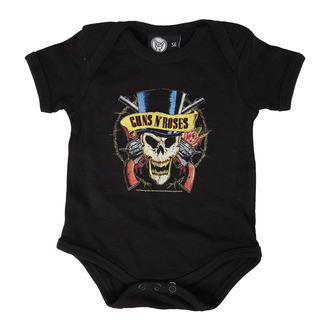 body enfants Guns n Roses - Top Hat - Noire - Metal-Kids, Metal-Kids, Guns N' Roses