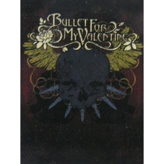 drapeau Bullet For My Valentine HFL 860, HEART ROCK, Bullet For my Valentine