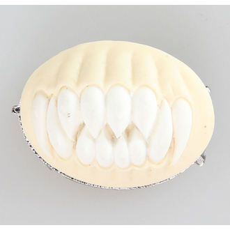 Broche RESTYLE - DENTS - blanc, RESTYLE