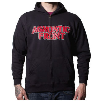 sweat-shirt avec capuche pour hommes Agnostic Front - Never Walk Alone - Buckaneer, Buckaneer, Agnostic Front