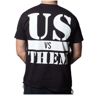 tee-shirt pour hommes Malade Of It All - Us Vs. Them - BUCKANEER - Noire, Buckaneer, Sick of it All
