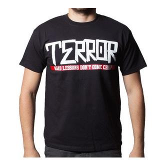 tee-shirt métal pour hommes Terror - Hard Lessons - Buckaneer, Buckaneer, Terror
