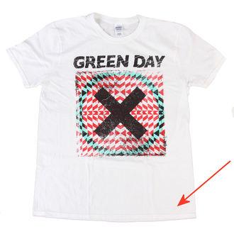 tee-shirt pour hommes Green Day - Xllusion - Blanc - BRAVADO UE - ENDOMMAGÉ, BRAVADO EU, Green Day