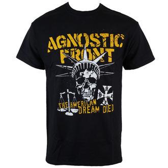 tee-shirt métal pour hommes Agnostic Front - Liberty Skull - RAGEWEAR, RAGEWEAR, Agnostic Front