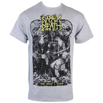 tee-shirt métal Napalm Death - Wolf - RAGEWEAR, RAGEWEAR, Napalm Death