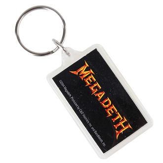 porte-clés (pendentif) Megadeth - Logo, C&D VISIONARY, Megadeth