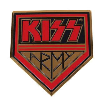 étiquette moyennes Kiss - Armée, C&D VISIONARY, Kiss