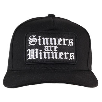 casquette NOIRE CRAFT - Sinners Are Les gagnants, BLACK CRAFT