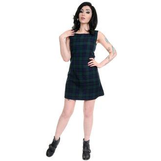 robe pour femmes 3RDAND56th - 60s Retro - Marine / Vert, 3RDAND56th