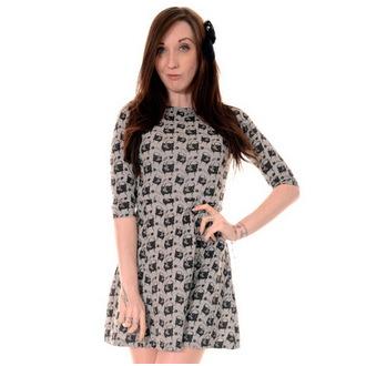 robe pour femmes 3RDAND56th - Carlin Face - Vert / Melange, 3RDAND56th