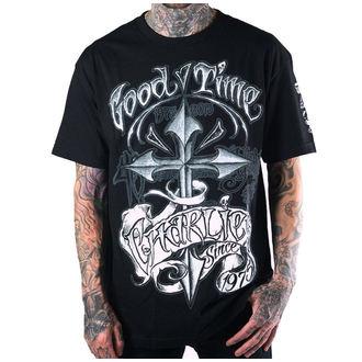 t-shirt hardcore pour hommes - 40th GTC Anniversary - SULLEN - BLK