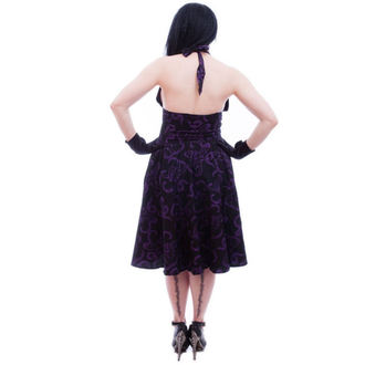 robe pour femmes NECESSARY EVIL - Feronia 50s - Noire, NECESSARY EVIL